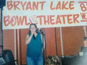 The first night she ever sang to me, a lifetime ago.